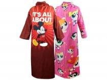 Kit Cobertor com Manga 2 Unidades - Mickey + Power Puff Girls Master Comfort