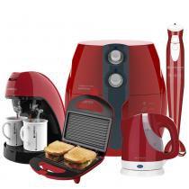 Kit Colors Vermelho Perfect Fryer Cadence -