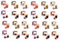 Kit com 12 Caixas Total 192 Cápsulas Nescafé Dolce Gusto Café Espresso Nescau Cappuccino etc Sabores - Nestle