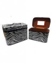 Kit com 2 Frasqueiras Zebra JN80043 - Importada