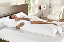 Kit com 2 Travesseiros de Corpo Casa Dona King 42x137cm - Casa Dona