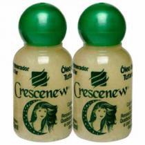 Kit com 2 unidades de óleo de tutano crescenew -