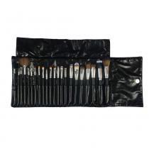 Kit com 22 Pincéis Profissionais para Maquiagem KP3-7A - Macrilan -
