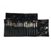 Kit com 22 Pincéis Profissionais para Maquiagem KP3-7A - Macrilan - Macrilan