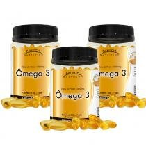 Kit Com 3 Ômega 3 - 120 Cápsulas - Nitech Nutrition - Nitech Nutrition
