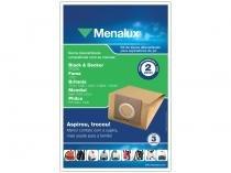 Kit com 3 Sacos Descartáveis para Aspirador - Menalux SIM01