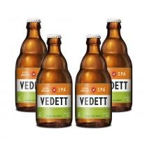 Kit Com 4 Cervejas Vedett IPA 330ml -
