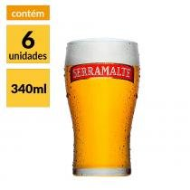 Kit com 6 Copos Serramalte -
