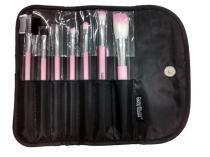 Kit com 7 pincéis para maquiagem KP5-3A - Gedex