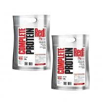 Kit complete protein (2un) 1,8kg refil - chocolate - Redseries