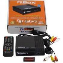 Kit Completo Tv Digital - Conversor Digital Gravador Hdmi + Antena Uhf + Cabo - Century -