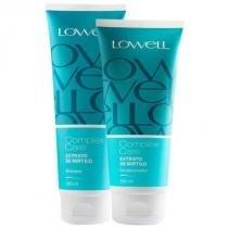 Kit Complex Care Mirtilo Lowell Shampoo 240ml e Condicionador 200ml - Lowell