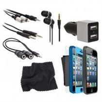Kit Conjunto De 12 Acessórios Para Iphone 5, 5S e SE - I sound