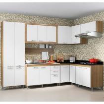 Kit Cozinha 8 Módulos 5714-T8 - Toscana - Multimóveis -