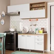 Kit Cozinha Multimóveis Toscana 5058.132.131 - 4 Portas 3 Gavetas
