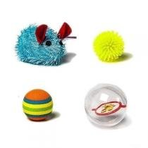 Kit de brinquedos para gatos 1 petlike - Petlike