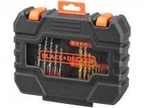 Kit de Ferramentas de Perfuração 50 Peças - BlackDecker A7232-XJ