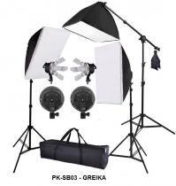Kit De Iluminação Completo Eros Greika - PK-SB03 220v -