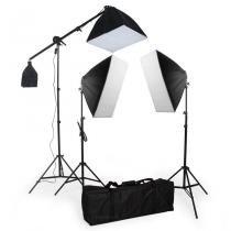 Kit de iluminação contínua SB03 495W - Greika