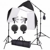 Kit de Iluminação para Estúdio Eros 495w Foto e Vídeo - Pk-sb03V 110v - Greika