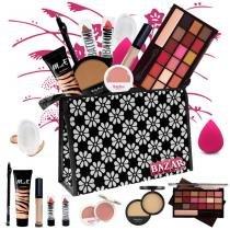 Kit de Maquiagem Completo Ruby Rose Luisance Fenzza Paleta 18 Cores Ruby Rose -