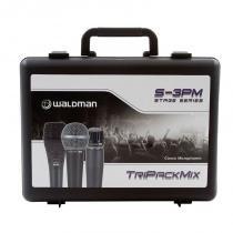 Kit De Microfones Pack Stage S-3pm Waldman - Waldman