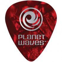 Kit de Palhetas para Guitarra 10 Peças Vermelho 1CRP2-10 - Planet Waves - Planet Waves