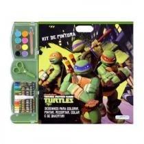 Kit de Pintura Tartarugas Ninja Multikids - BR066 -