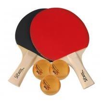 Kit de raquetes e bolinhas - bel sports - Bell toy