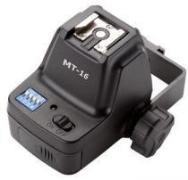 Kit Disparador de Flash Godox MT-16 com suporte Guarda-Chuva e Duas Montagens de Sapatas (Receptor e Transmissor de 16 Canais sem Fio) -