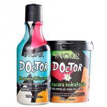 Kit Doctor Inoar Shampoo 250ml e Máscara Hidratação 450g - Inoar