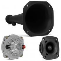 Kit Driver JBL D250-X 100W Fenólico + Tweeter ST200 100W + Corneta Longa - Prime