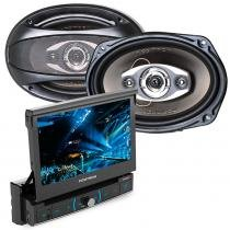"Kit DVD Player Pósitron SP6320BT+  Alto Falante 6x9"" -"
