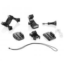 Kit Encaixe Action Cam Atrio Adaptadores para Suporte Universal ES066 - Atrio