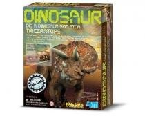 Kit Escavação de Dinossauro - Triceraptor - 4M -