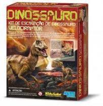 Kit Escavação de Dinossauro - Velociraptor - 4M -