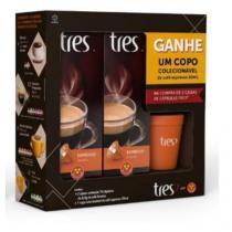 Kit Espresso Ameno + Copo Colecionável 50ml - Três corações