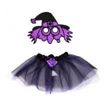 Kit Fantasia Infantil Bruxa Halloween - Festabox