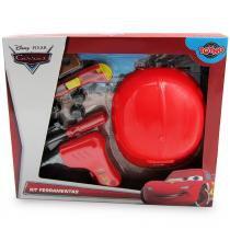 Kit Ferramentas Infantil Carros Disney com Capacete 24089 Toyng - Toyng