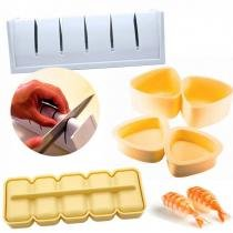 Kit Forma para Sushi + Forma para Norimaki + Forma Niguiri Bolinho de Arroz  nihon shikko -
