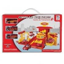 Kit Garagem Corpo de Bombeiros - Centro de Treinamentos 3370 - Fênix - Fênix