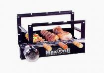 Kit giratorio max grill 03 espetos - preto - metalrio - Metal rio