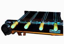 Kit giratorio max grill 04 espetos - preto - metalrio - Metal rio