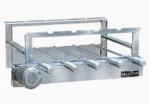 Kit giratorio max grill 05 espetos para churrasco - inox - max grill - Metal rio