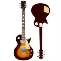 Kit Guitarra 22 Trastes Sunburst Com Capa Afinador Eg2k Guit Sx - Sx