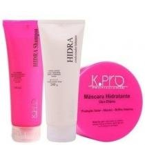 Kit Hidra K.Pro Shampoo 240ml , Condicionador 240g e Prime Mask 200g - k.Pro