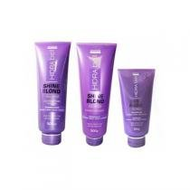 Kit Hidrabell Shine Blond - Shampoo Condicionador - Hidrabell