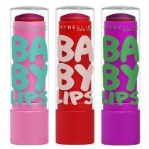 Kit Hidratante Labial Maybelline Baby Lips Super Frutas - Maybelline