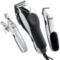 Kit Home Barber Wahl Clipper 12 Níveis de Altura - 1 Velocidade