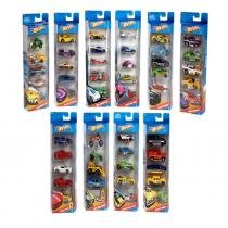 Kit Hot Wheels Mattel Y1806 5 UN - Mattel